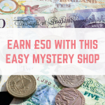 Earn £50 with this easy mystery shop