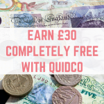 Get over £30 for free with Quidco