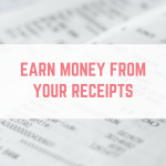 Earn money from your receipts