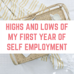 Highs and lows of my first year being self-employed