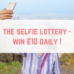 The Selfie Lottery – win £250 on 31st July or £10 daily