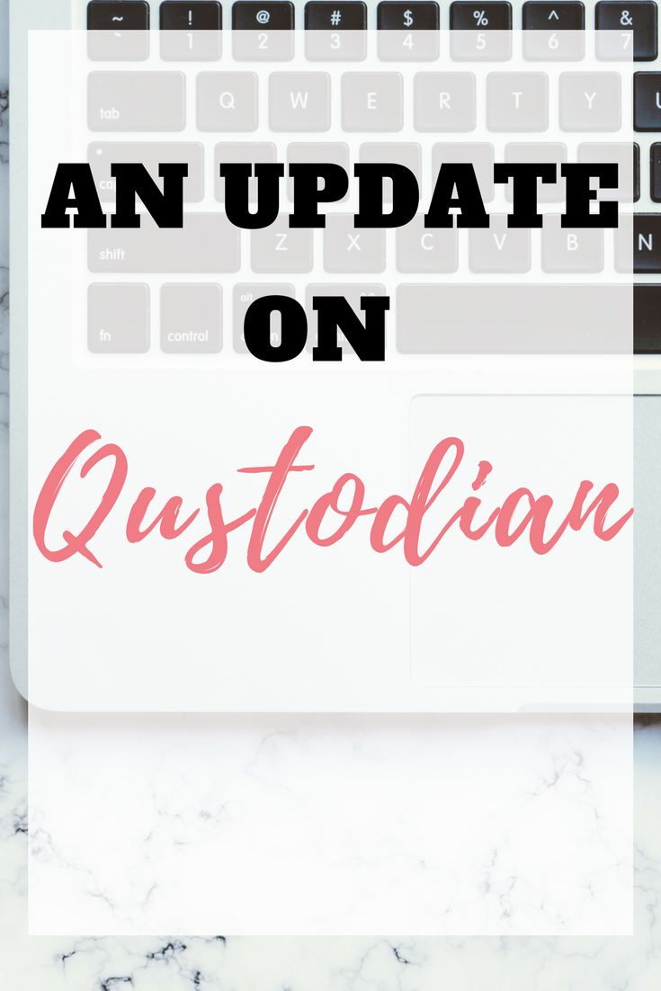I noticed that for a few weeks, my earnings with Qustodian were increasing very slowly, and sometimes not at all. Here's my email and what they said by Emma at EmmaDrew.info #earningMoney #makingmoney